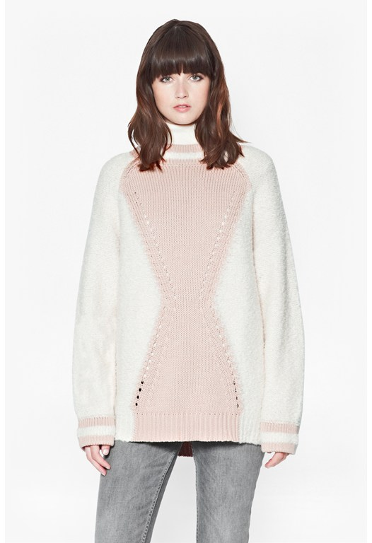 Hester Knitted High Neck Jumper
