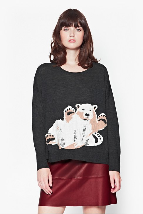 Polar Fun Wool-Blend Jumper