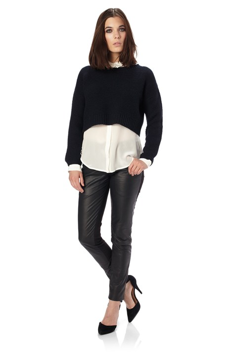 Scandi Knits Cropped Jumper