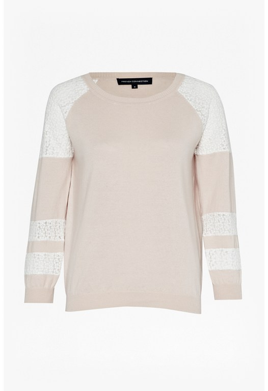 Ivy Lace Knitted Jumper
