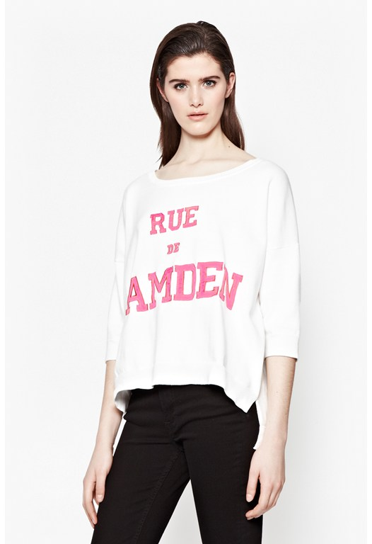 Rue De Camden Cotton Jumper