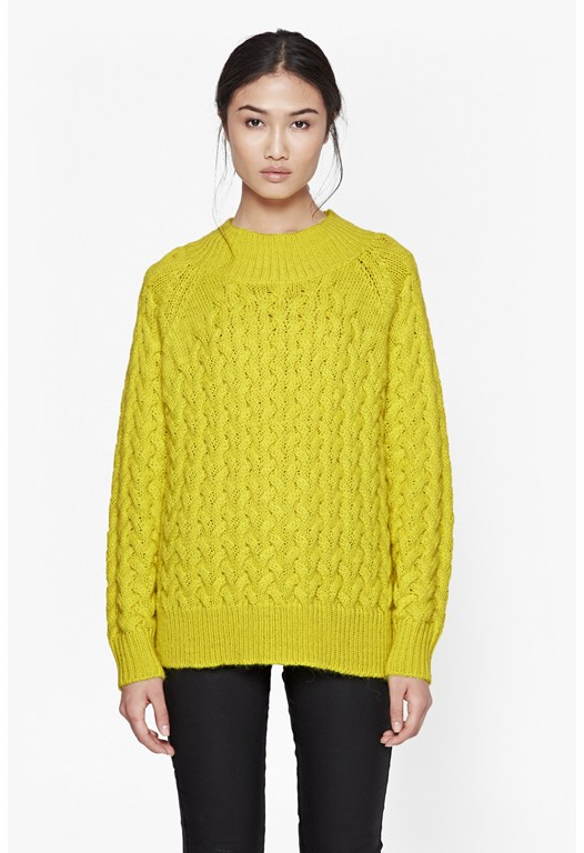 Glinka Knits High Neck Jumper