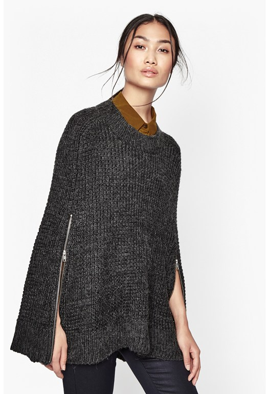 Cara Knit Cape