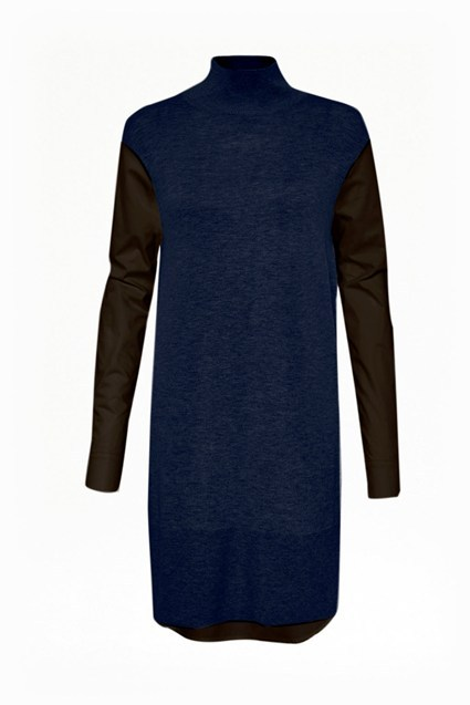 Naomi Knitted Shirt Tunic