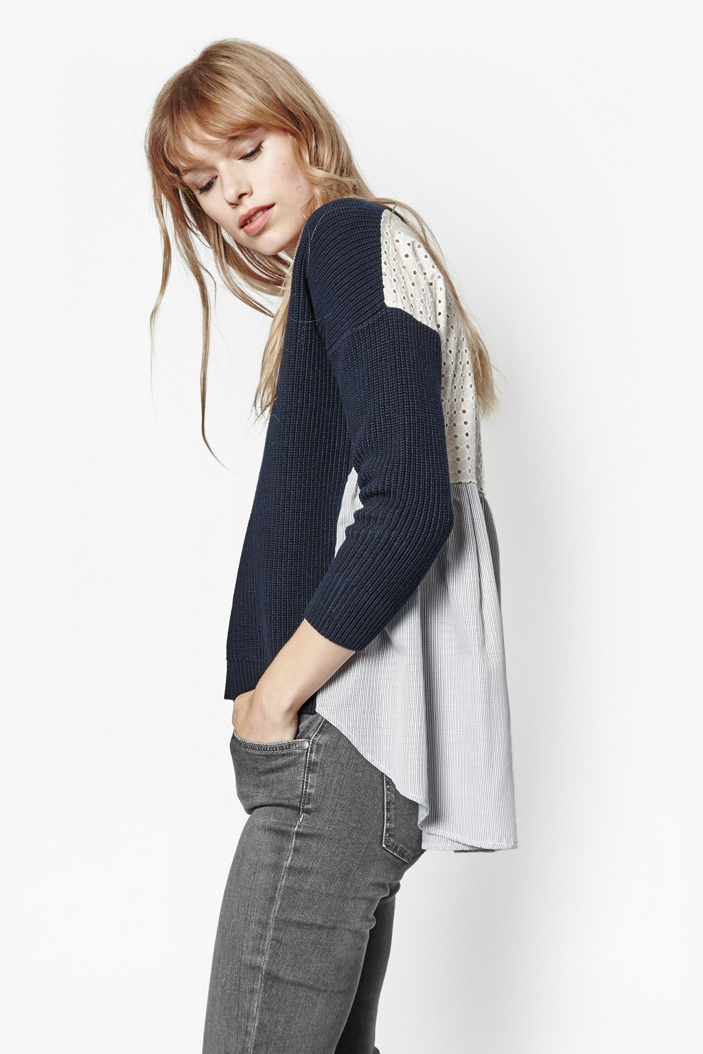 Effie Back Detail Jumper