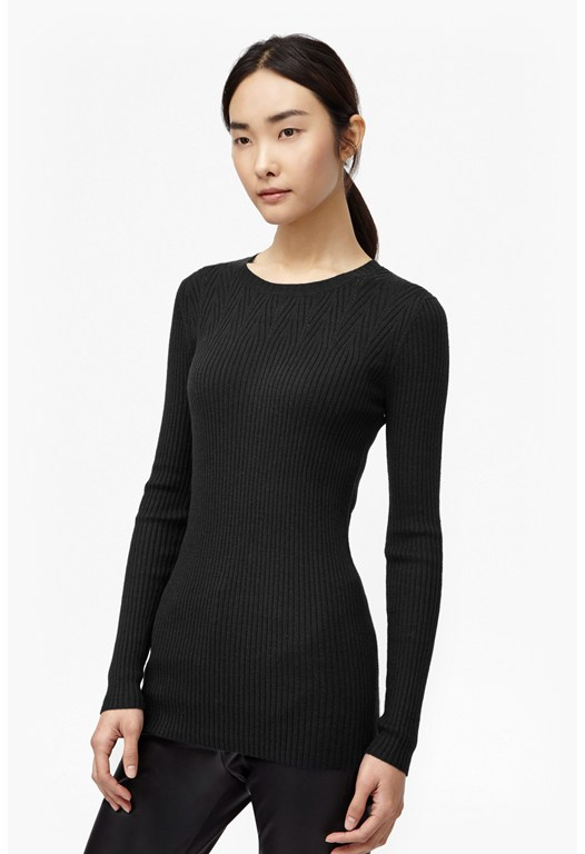 Garbo Ribbed Light Knit