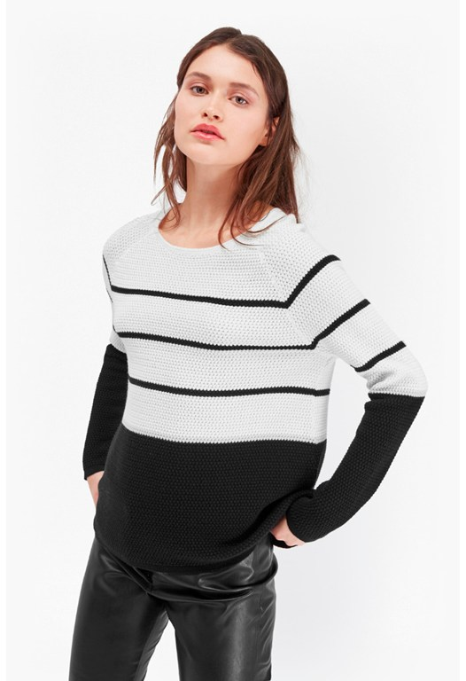 Matilda Textured Nautical Knit