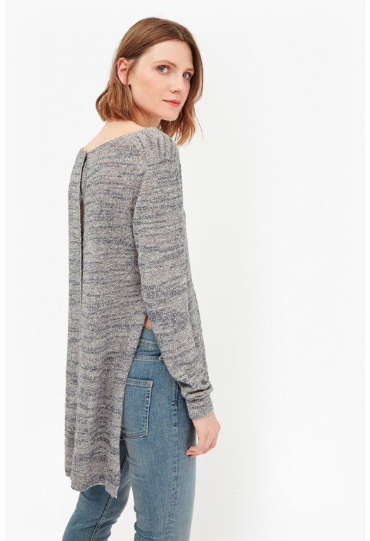 Mono Masai Stepped Hem Jumper