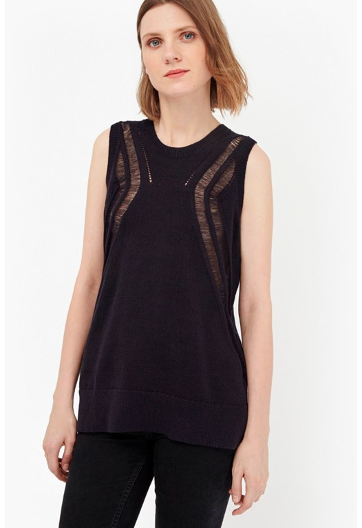 Erin Knits Sleeveless Jumper
