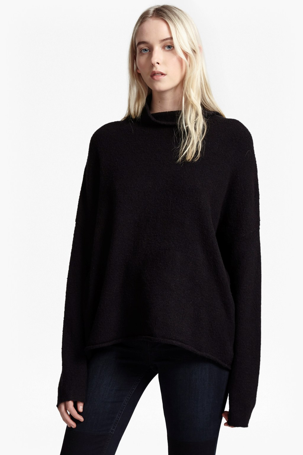 Weekend Flossie Funnel Neck Jumper