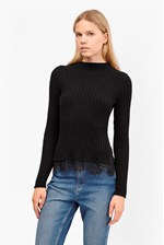 Looks Great With Nicola Knits Ribbed Jumper