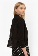 Looks Great With Bow Fringe Cropped Cardigan