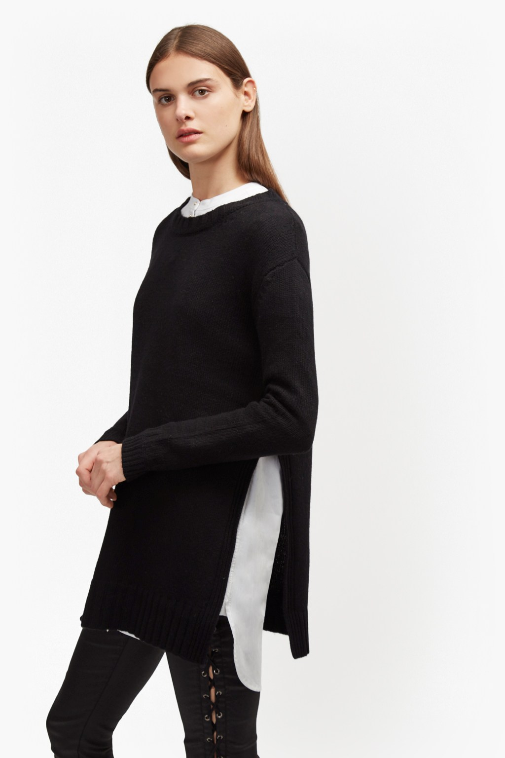 Core Cashmere Blend Oversized Jumper