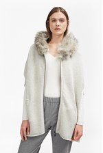 Looks Great With Autumn RSVP Faux Fur Poncho