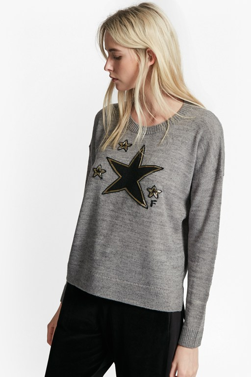 Complete the Look Lucky Star Knits Crew Neck Jumper