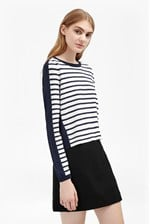 Looks Great With Cass Knits Stripe Jumper