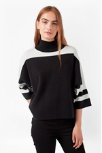 Looks Great With Mozart Colour Block Jumper