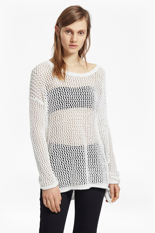 Faye Knit Fishnet Jumper