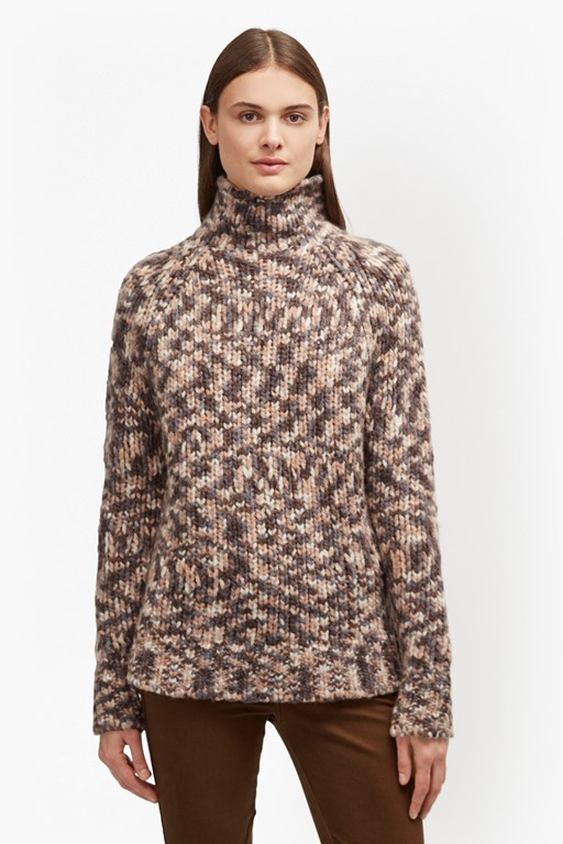 mirabelle knit flecked jumper