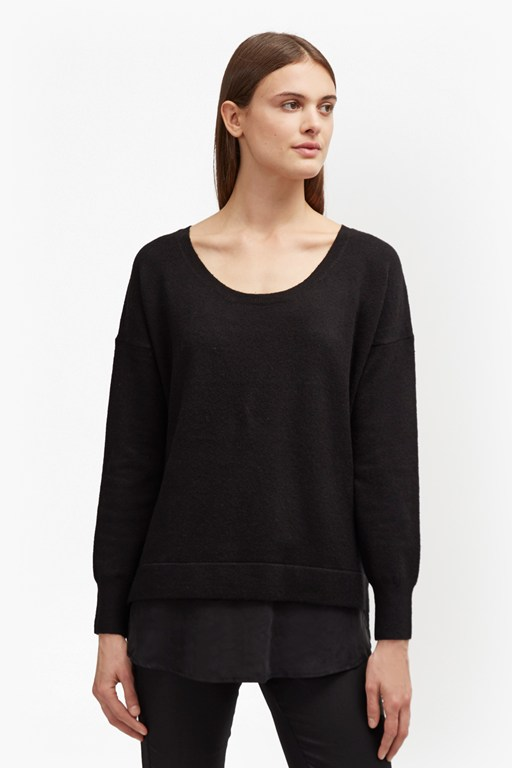 Complete the Look Vhari Hybrid Knit Jumper