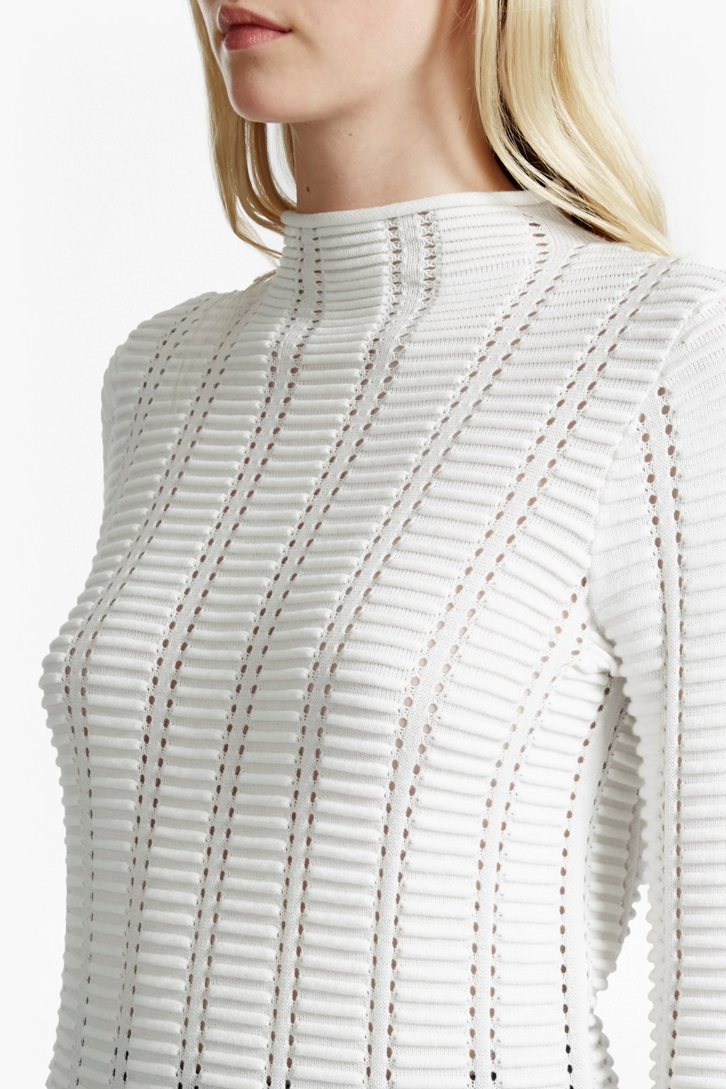 Mozart Ladder Open Knit Jumper | Sale | French Connection Usa
