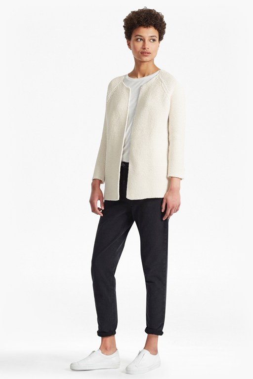 Complete the Look Cotton Link Stitch Cardigan