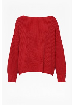 Millie Mozart Knit Slash Neck Jumper