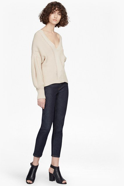 Millie Mozart Knit Dropped Sleeve Jumper