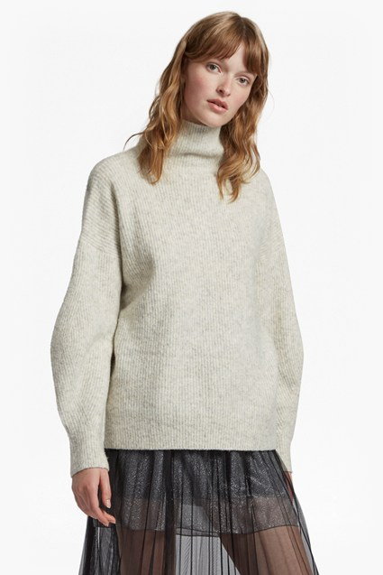 Urban Flossy High Neck Jumper