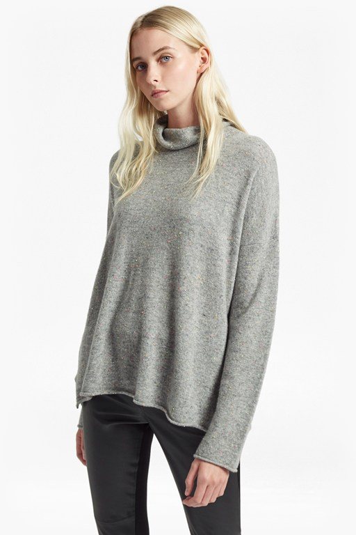 Complete the Look Bea Cashmere High Neck Jumper