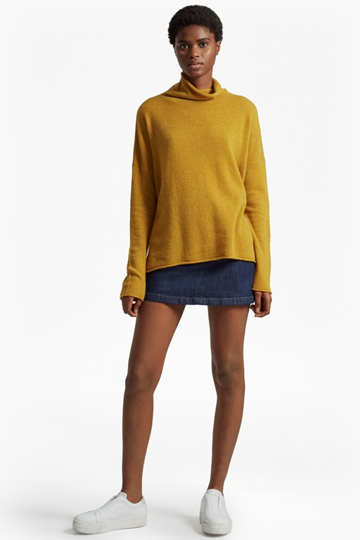 bea cashmere high neck jumper