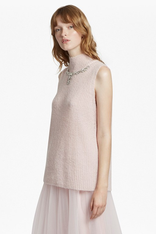 mathilde knit high neck jumper