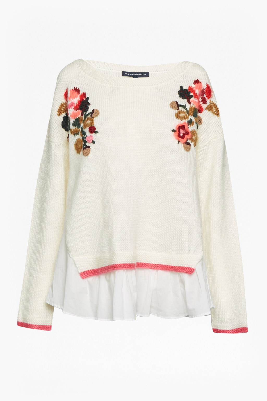 47e1ac375e409d Vienna Knit Embroidered Jumper. loading images. exquisite design 354d3  86926  Avis Embellished Knitted Jumper Sale French Connection Usa ...