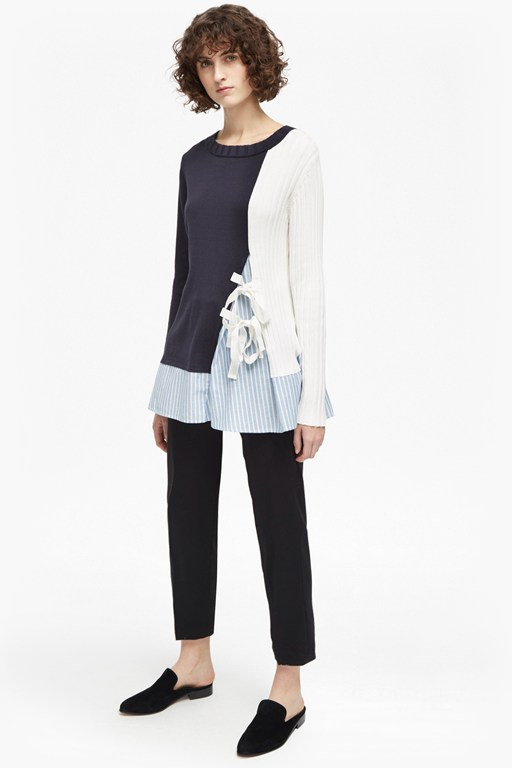 ivy knits crew neck jumper
