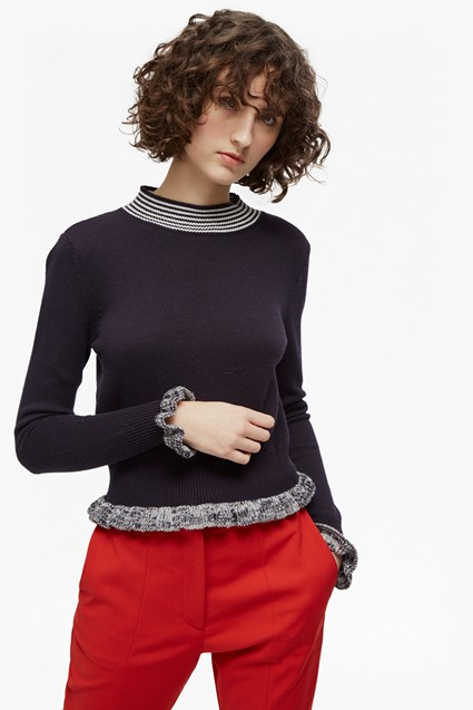Alexa Knit High Neck Jumper