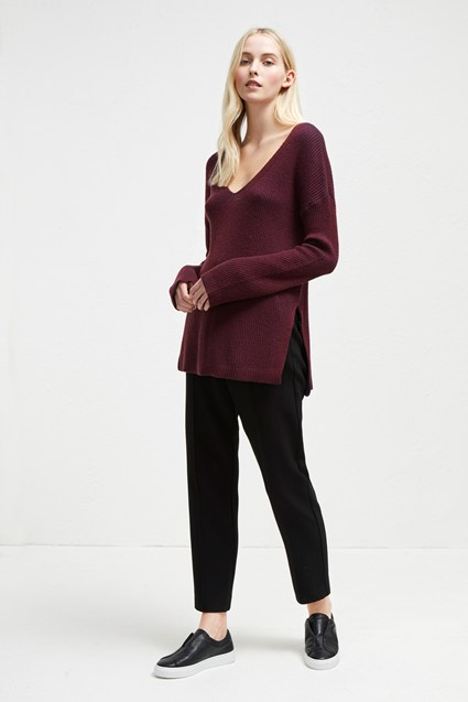 Isabea Knit V Neck Jumper