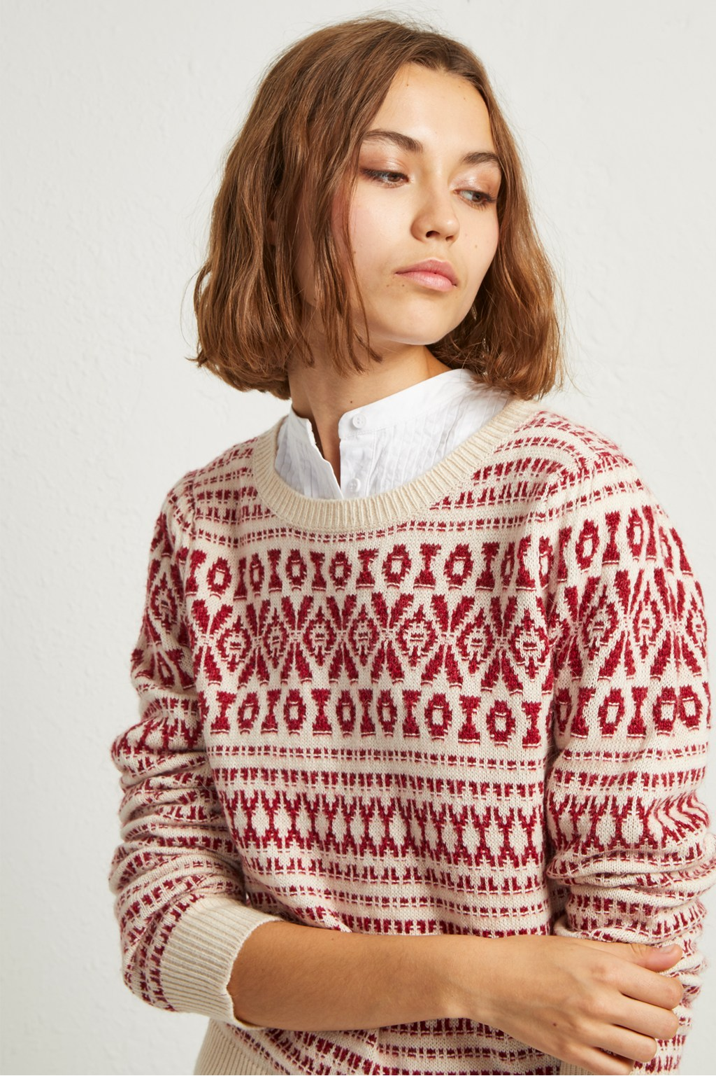 efce54de8 Esme Fair Isle Jumper | Collections | French Connection Usa