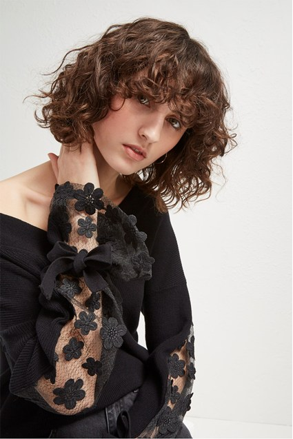 Caballo Lace Knit Jumper