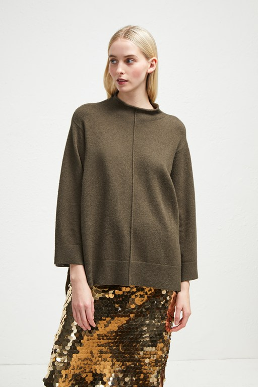 ebba vhari high neck jumper