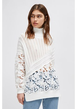 Patchwork Mozart Lace Jumper