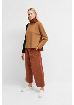 River Vhari Color Block Roll Neck Sweater