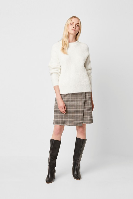 rufina knits crew neck jumper