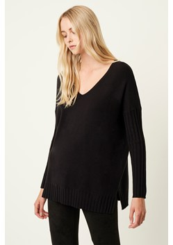Vhari Rib V Neck Sweater