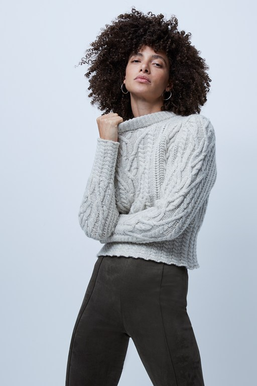 joetta cable knit jumper