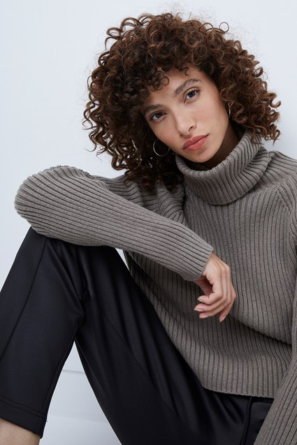 Katerina Knits Roll Neck Jumper