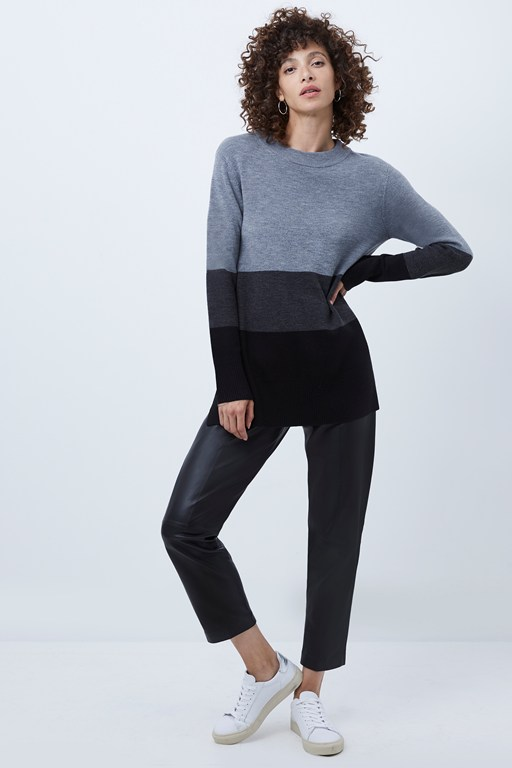babysoft normie colorblock sweater