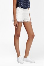 Looks Great With Castaway Lace Mini Shorts