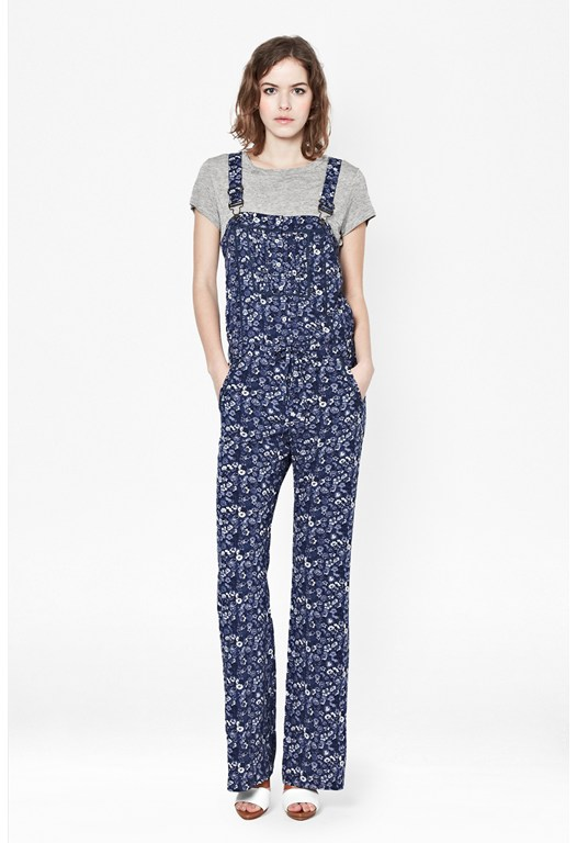 Marylin Printed Dungarees