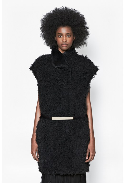 Fallon Faux Fur Gillet