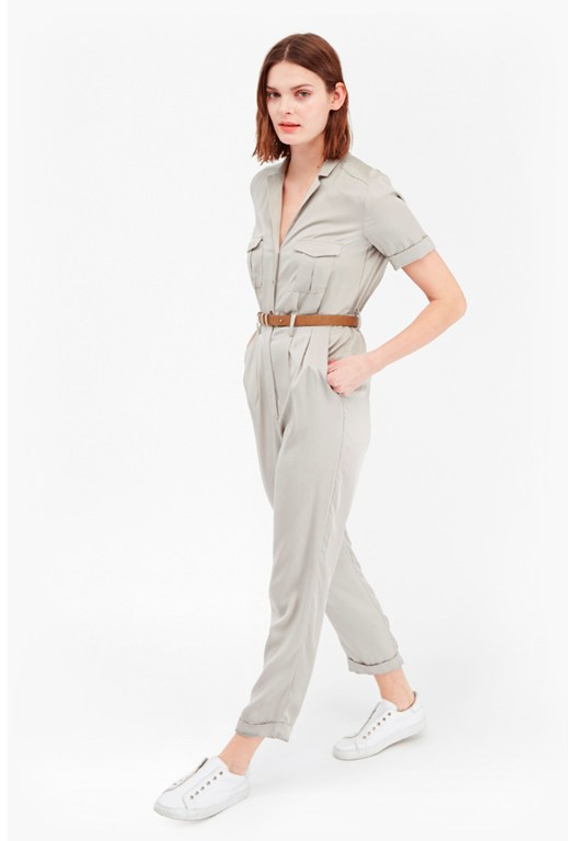 Kruger Tencel Safari Jumpsuit